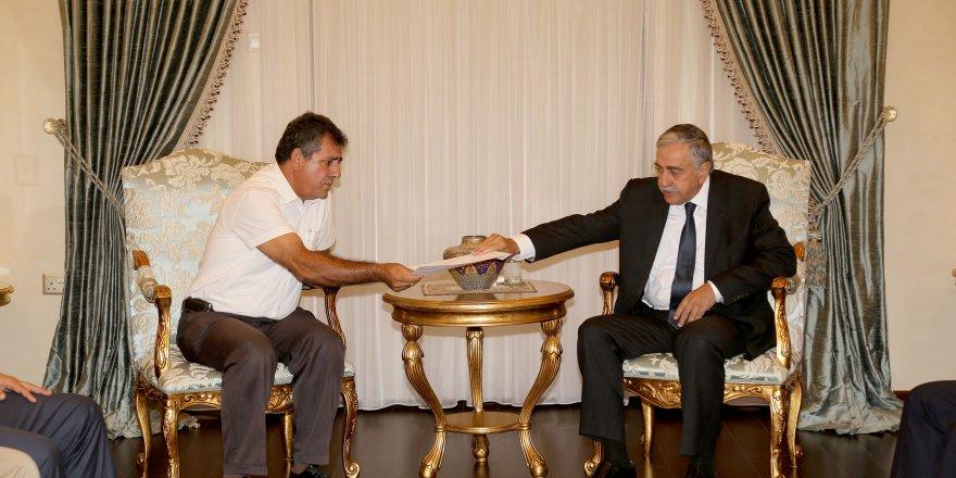 """Akıncı: """"Kıbrıs sorununun bir an önce bitmesi bizim de isteğimiz"""""""