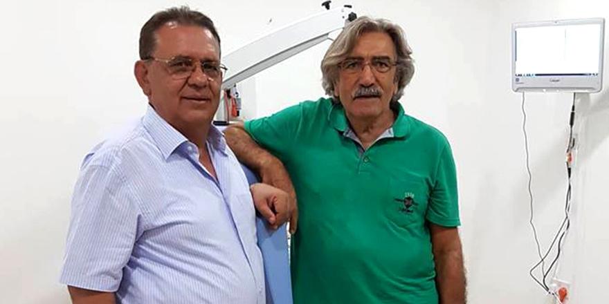 Ses telleri için Kıbrıs'a geldi