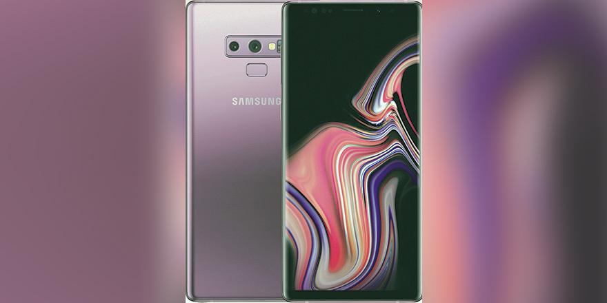 Samsung Galaxy Note 9 görücüye çıktı