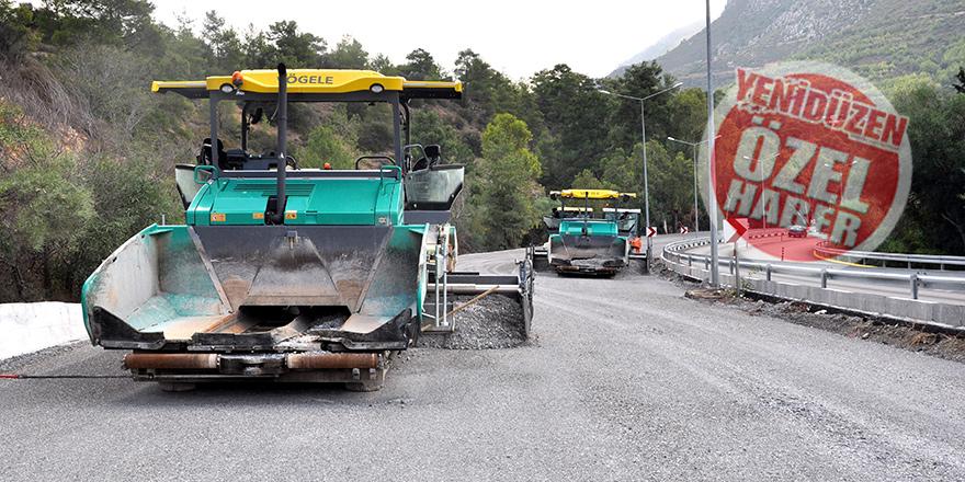 Hafta sonu asfaltlama başlayacak, 10 gün içinde bitecek