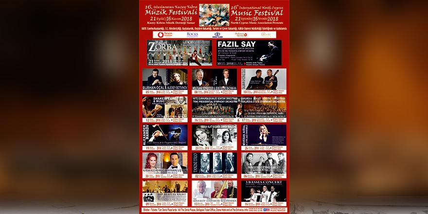"""Festival açılışını """"Zorba"""" yapacak"""