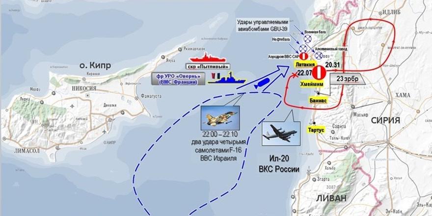 Akdeniz'de uçak düşürüldü