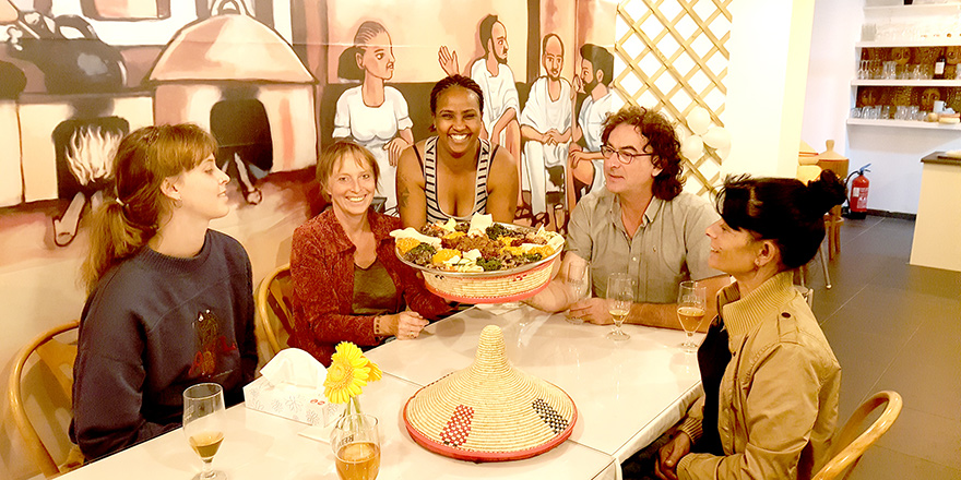 Elsie'in Ethiopische Mutfağı-Belçika