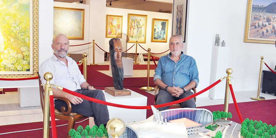 Şinasi Tekman'ın eseri Kıbrıs Modern Sanat Müzesi'nde