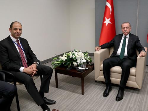 Erdoğan ile Özersay New York'ta görüştü