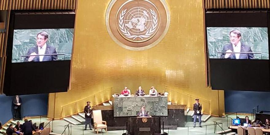 Anastasiadis'ten BM Genel Kurulu'nda çağrı