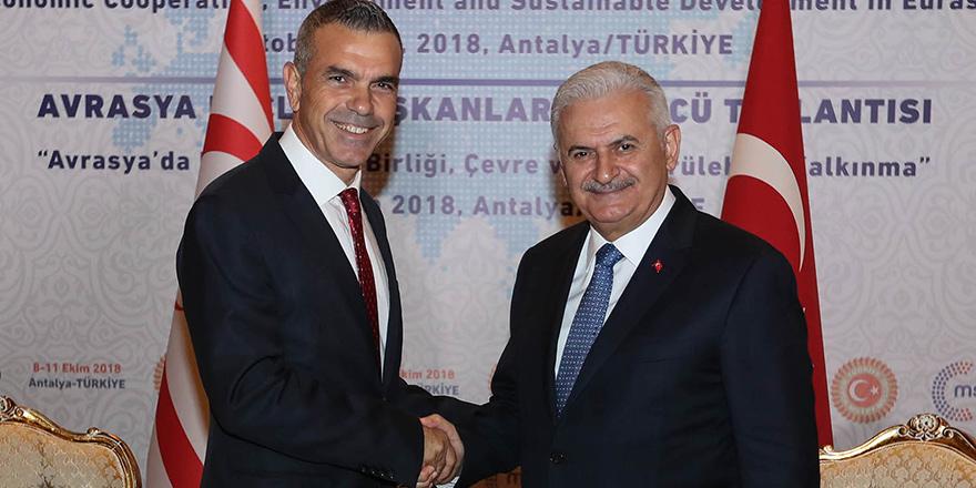 Uluçay, Antalya'da Yıldırım ile görüştü