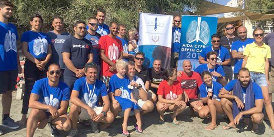 Kıbrıslı Türk Dalgıç Limasol'da şampiyon