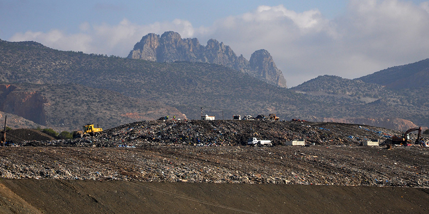 Çöp deposu 6 yılda doldu