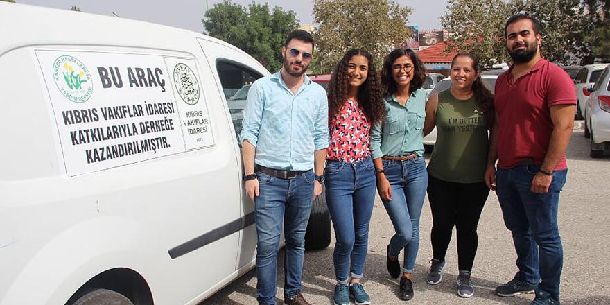 DAÜ'lü öğrencilerden Kanser Hastalarına anlamlı destek