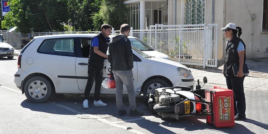 Yenişehir'de korkutan kaza