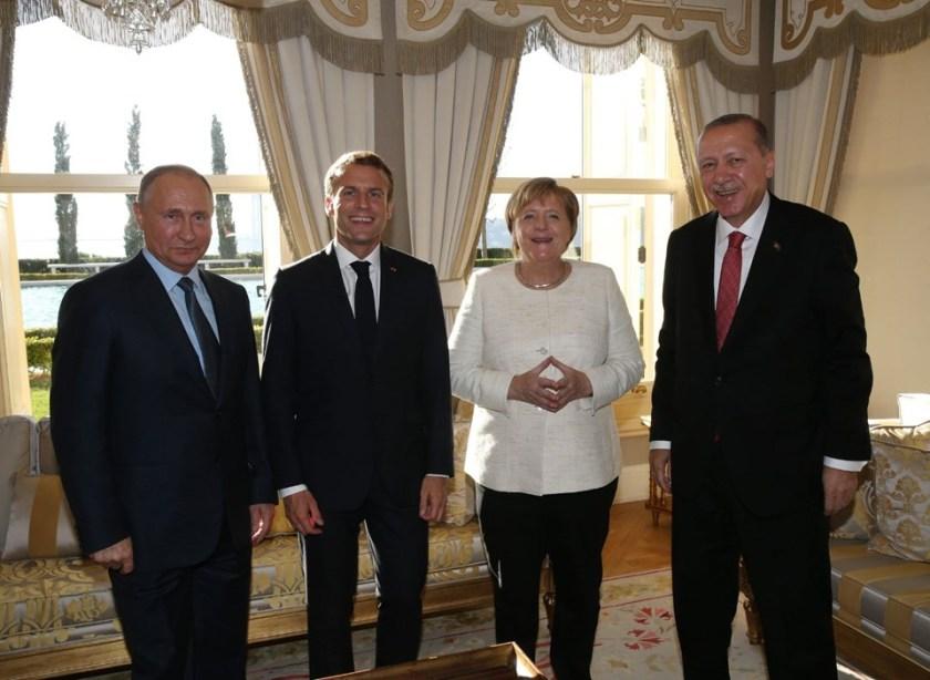 Dörtlü Suriye Zirvesi sonrası liderlerden ortak bildiri