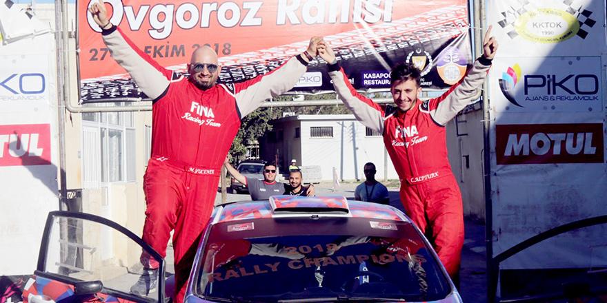 Şampiyon Alptürk-Yücener ikilisi
