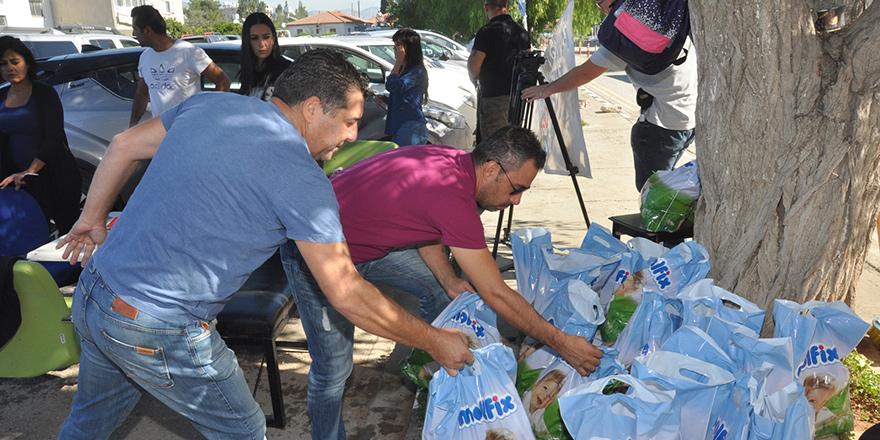 Hava-Sen'den CAS çalışanlarına gıda yardımı