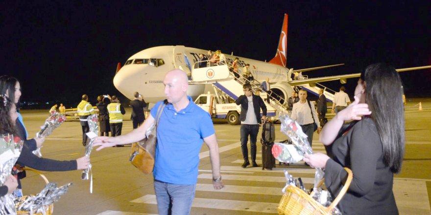 İstanbul Havalimanı'ndan ilk yurt dışı uçuşu Kuzey Kıbrıs'a…
