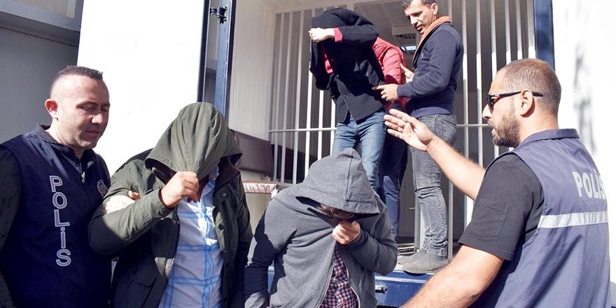 Disko çıkışı kavga ettiler, 2 kişinin burnunu kırdılar, tutuklandılar…