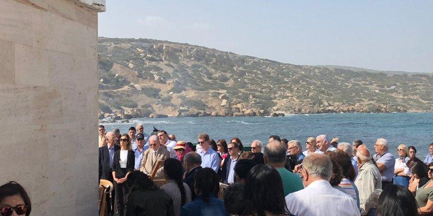 Kuzeyde yaşayan Maronitler St. George Kilisesi'nde ayin yaptı