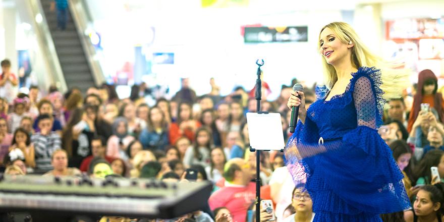 City Mall AVM'de Gökçe'li kutlama