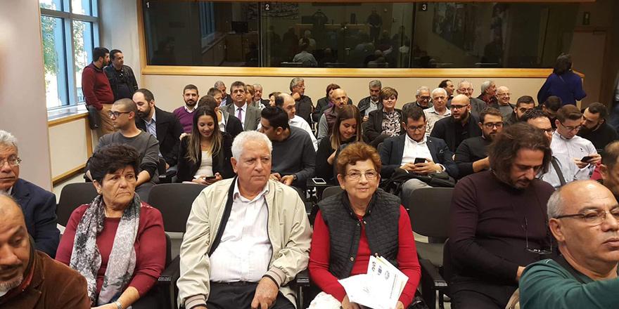 Brüksel'de Kıbrıslılara sunum