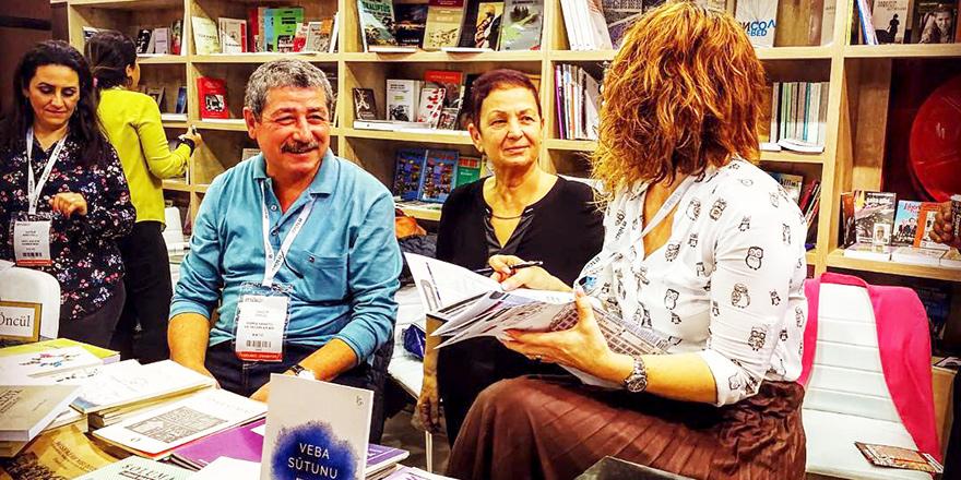 Kitap Fuarı'na Kıbrıslı yazarlar damgası