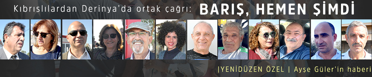 """""""BARIŞ, HEMEN ŞİMDİ"""""""