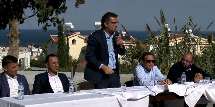 """Erhürman: """"Lapta-Alsancak bölgesi için yol çalışmaları başladı"""""""