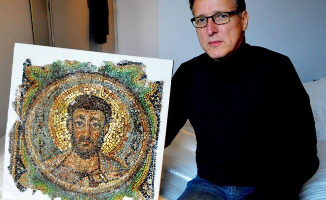 Kıbrıs'tan çalınmıştı: 40 yıldır aranan Bizans mozaiği bulundu