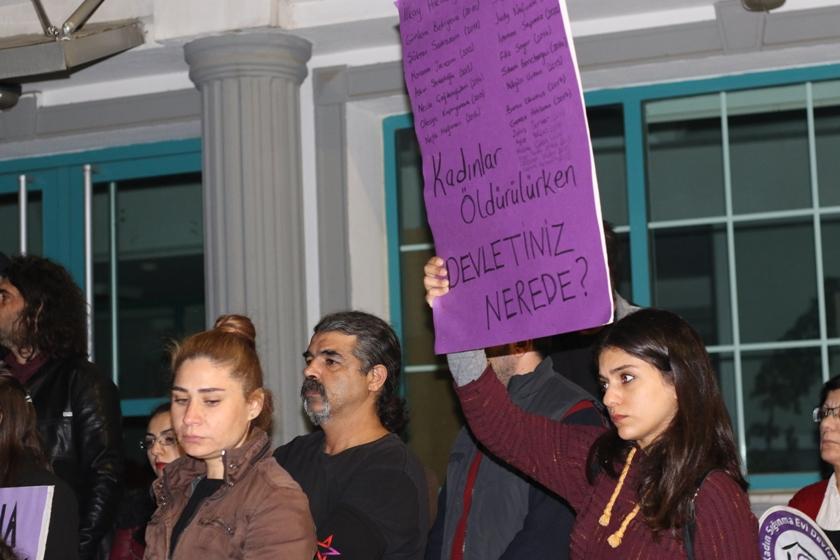 """Bağımsızlık Yolu, Baraka ve KEK: """"Kadın Cinayetlerine karşı isyandayız"""""""