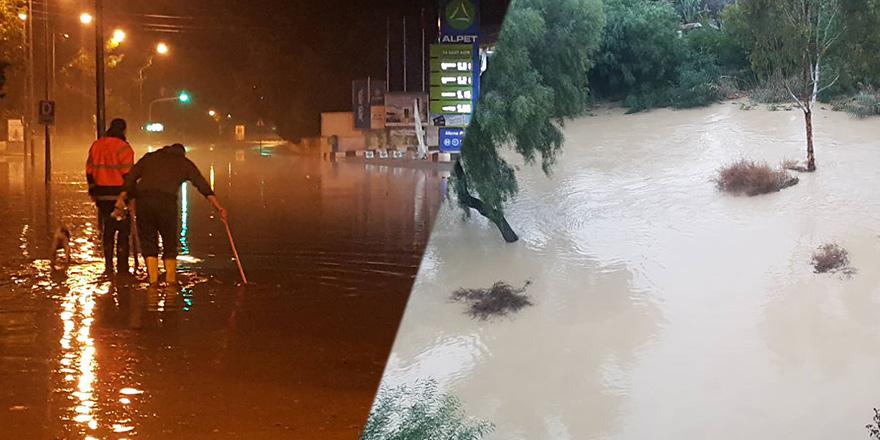 """Yağışlar için """"KRİZ MASASI"""""""