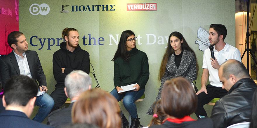 Gençler Kıbrıs'ın geleceğini konuştu