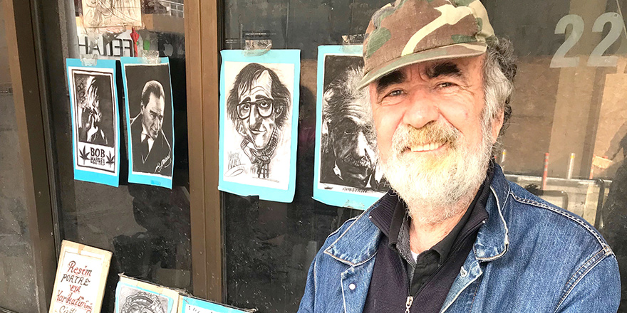 40 yıldır 'sanatla', sokakta…