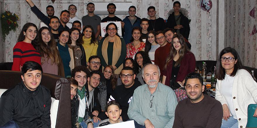 İngiltere'deki Kıbrıslı Türk gençler buluştu