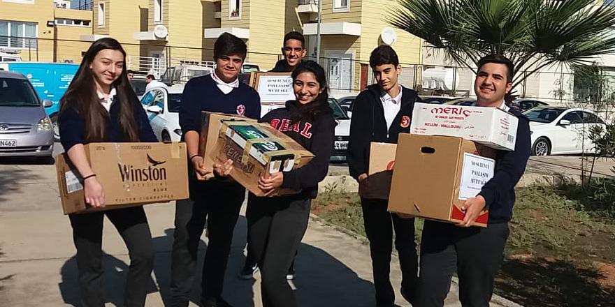 Bülent Ecevit Lisesi'nden 'Paylaşım Mutfağı'na bağış