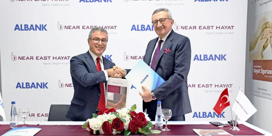 Albank Near East Hayat ile  Sigortacılıkta İş Birliği Başlattı