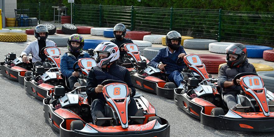 YDP  karting turnuvası düzenledi