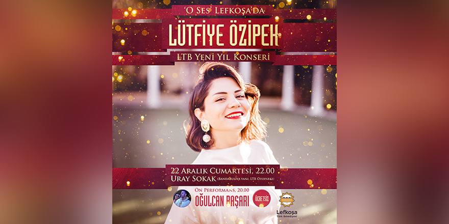 Lütfiye Özipek Lefkoşa'da konser verecek