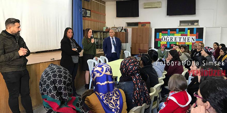 Uzmanlar Mağusa'da okullarda