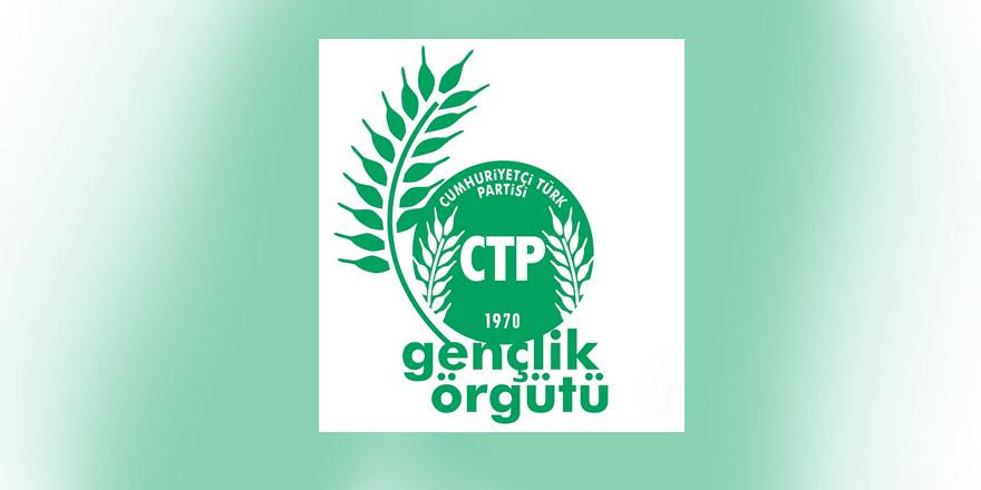 """Cumhuriyetçi Türk Partisi Gençlik Örgütü, """"Savaş karşıtı bireylerle aynı saftayız"""""""
