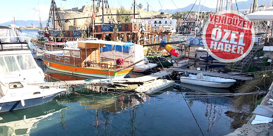 Girne Yat Limanı  sorun küpü