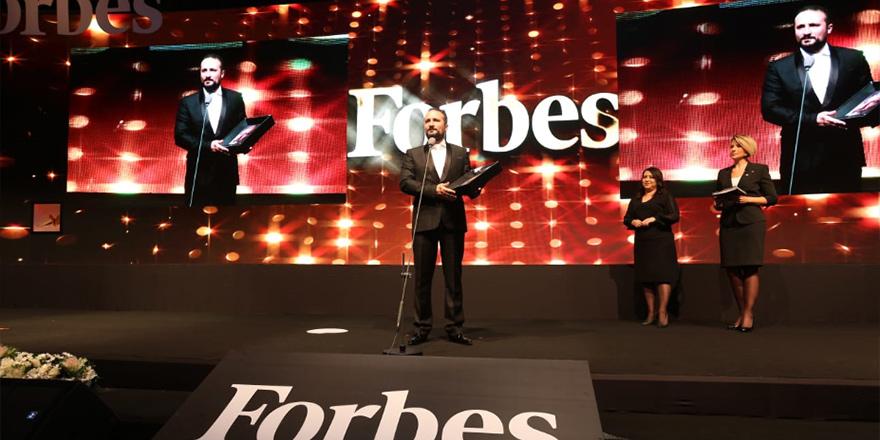 """Günsel'e Türkiye'nin Yaşayan En Büyük Zihinleri"""" Ödülü"""