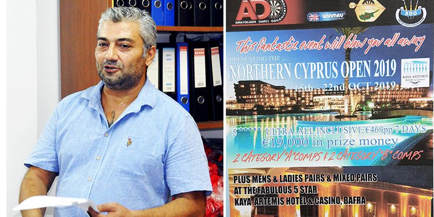 KKDF, dünya dartsçılarını ağırlayacak