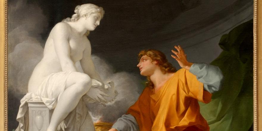 Kendi yaptığı heykele aşık olan Kral Pygmalion