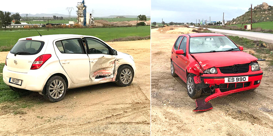 Tuzluca kavşağında kaza: 1 yaralı