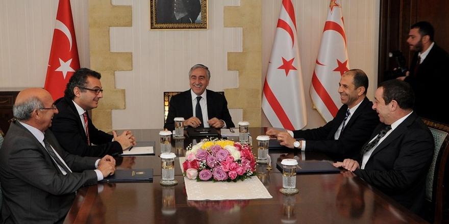 Yeni yılın ilk toplantısı Kıbrıs sorunu