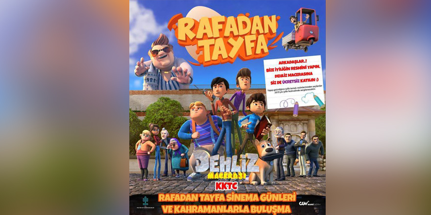 """""""Rafadan Tayfa"""" sinemalarda"""