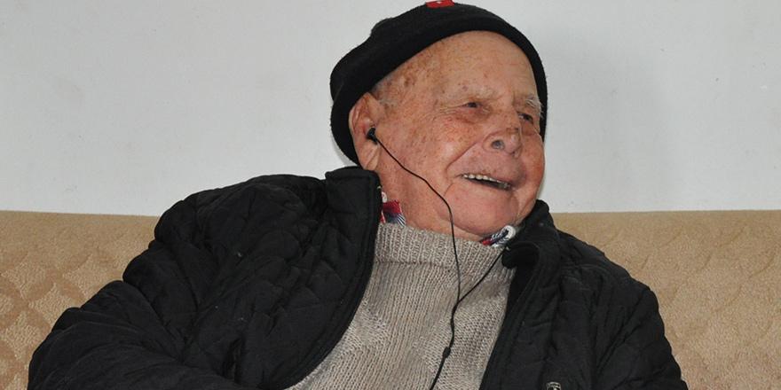 102 yaşındaki Hüseyin Kardan