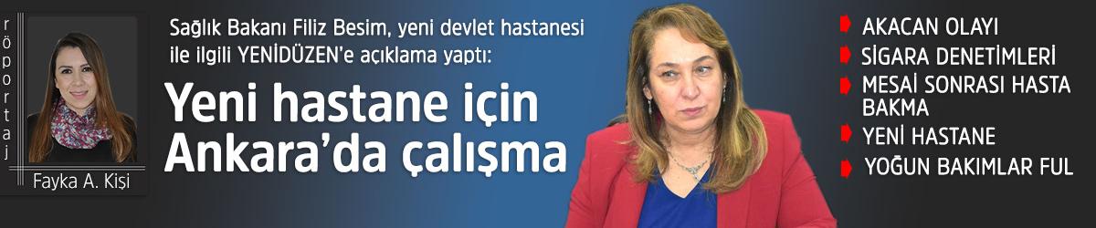 """""""Yeni hastane için Ankara'da çalışma"""""""