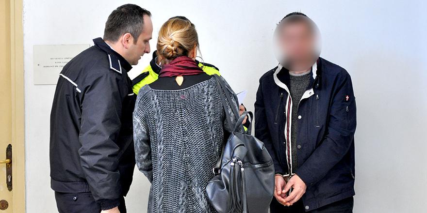 Eşini darp etti,  cezaevine gönderildi