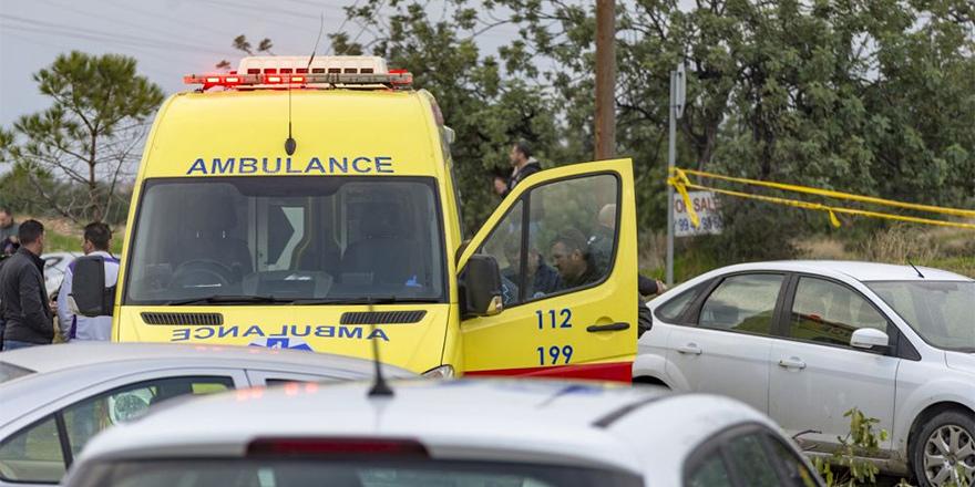 Larnaka'da hamile kadın trafik kurbanı