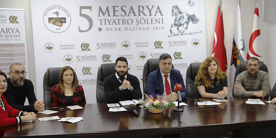 5. Mesarya Tiyatro Şöleni başlıyor.